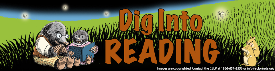 Dig into Reading animals reading